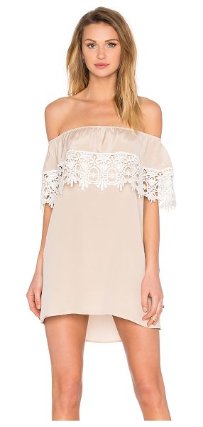 STONE COLD FOX Bonita dress in beige