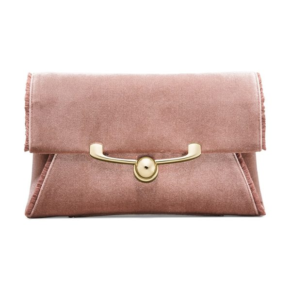 STUART WEITZMAN Bellafrayed - Meet the BELLAFRAYED. The classic envelope clutch just...