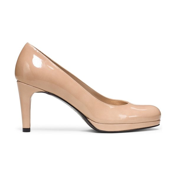 "STUART WEITZMAN Blog in adobe patent - The ""everywear"" pump. Classic, comfortable and..."