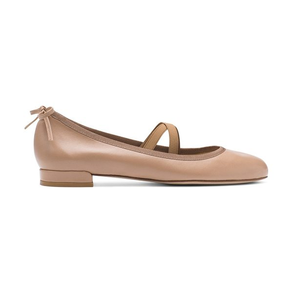 STUART WEITZMAN Bolshoi - Raise the barre in SW's freshest ballerina flats, which...