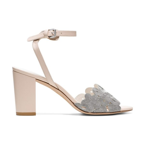 Stuart Weitzman Chainreaction in silver chains - Step into everyday elegance in these effortless...