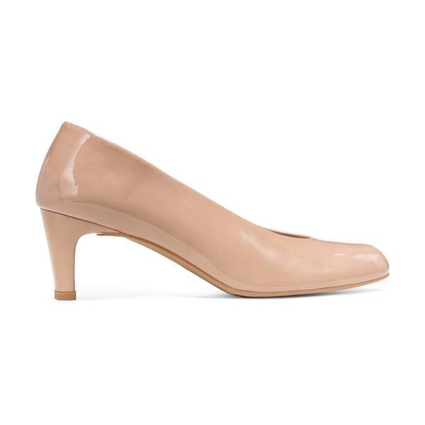 Stuart Weitzman Chicpump in adobe patent - Professional panache, with just the right amount of...