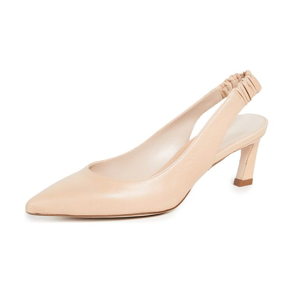 Stuart Weitzman hayday slingback pumps in blush