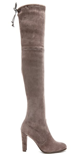 Stuart Weitzman highland boot in taupe