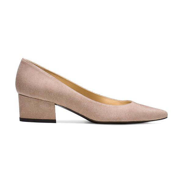 Stuart Weitzman Largo - These one-of-a-kind pumps are crafted from sumptuous...