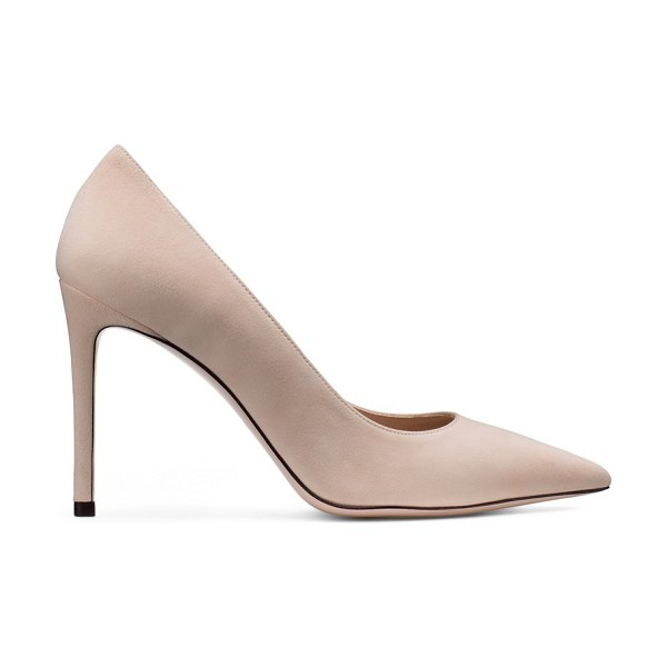 Stuart Weitzman leigh 95 in dolce taupe suede