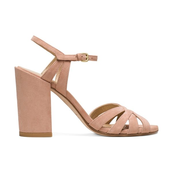 STUART WEITZMAN Memoir - These single-sole sandals are set on covered block...