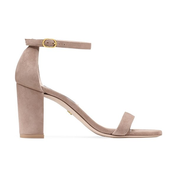 Stuart Weitzman nearlynude in dolce taupe suede