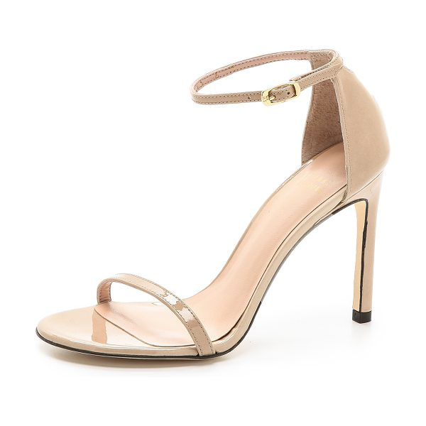 STUART WEITZMAN nudistsong sandals - Delicate Stuart Weitzman sandals composed of polished...