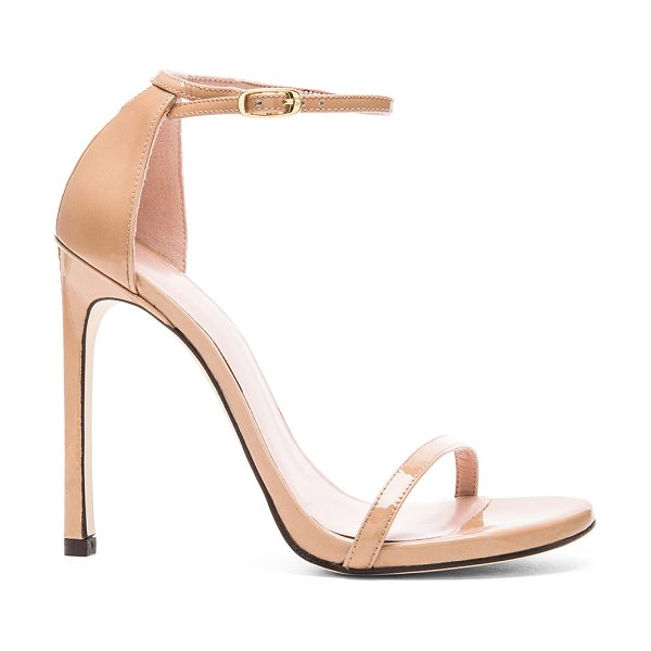 Stuart Weitzman nudist heel in adobe