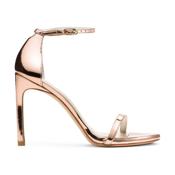 STUART WEITZMAN Nudistsong - The bombshell bride will fall in love with these...