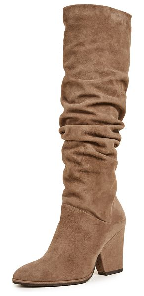 Stuart Weitzman smashing knee high boots in nutmeg - Luxe suede Stuart Weitzman knee-high boots featuring a...