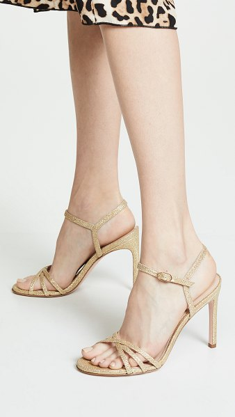 Stuart Weitzman starla 105mm sandals in gold