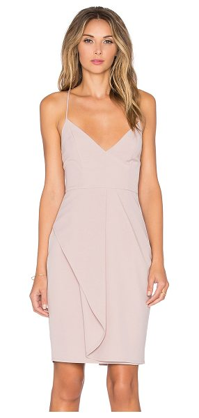 Style Stalker Goldstein dress in blush - Self: 96% poly 4% spandexLining: 100% poly. Fully lined....
