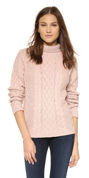 Style Stalker Immortals knit sweater in blush - This cable knit STYLESTALKER sweater feels cozy with a...