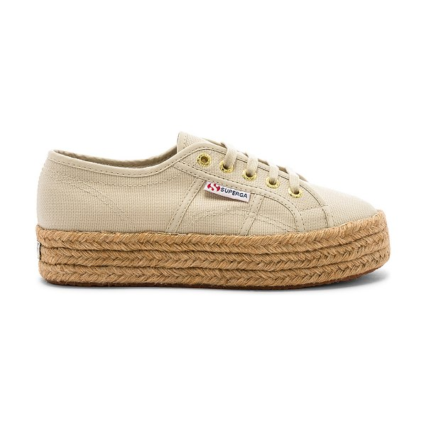 Superga 2730 cotropew sneaker in cafe noir - Superga 2730 COTROPEW Sneaker in Beige. - size 9 (also...