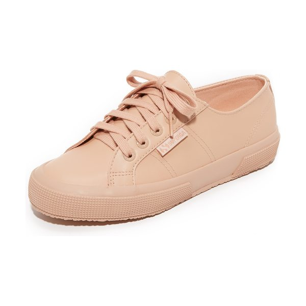 Superga 2750 fglu sneakers in total blossom pink - Signature Superga sneakers composed of soft, sturdy...