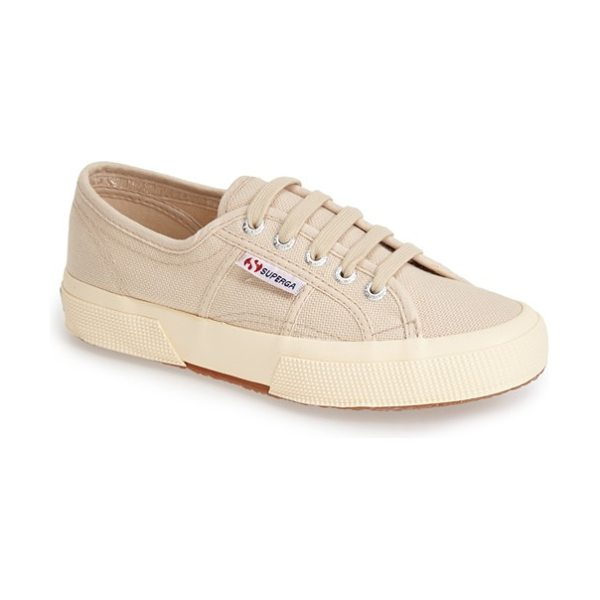 Superga cotu sneaker in nude - Casual kicks in an array of terrific colors. The...