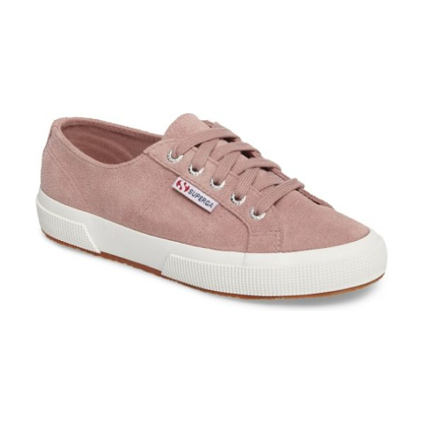 Superga 'cotu' sneaker in rose - Casual kicks in an array of terrific colors. The...