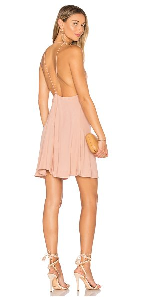 SWF Cora Dress in soft blush - 100% rayon. Hand wash cold. Unlined. SWFR-WD24. SWFRES171003.