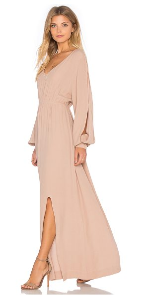 SWF Juliette Dress in blush - 100% rayon. Hand wash cold. Unlined. Elasticized waist....
