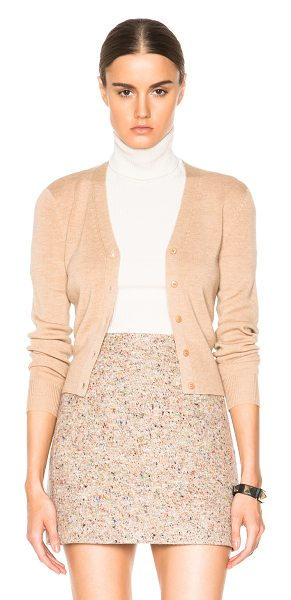 T by Alexander Wang Cardigan in neutrals - 100% merino wool.  Made in China.  Knit fabric.  Button...