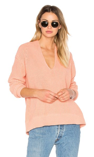 T BY ALEXANDER WANG Deep V Neck Pullover - Create layers on layers with T by Alexander Wang's Deep...
