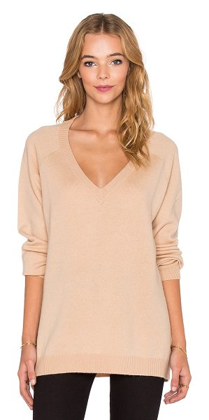 T BY ALEXANDER WANG Deep v neck sweater - 90% wool 10% cashmere. Dry clean only. Ribbed trim....
