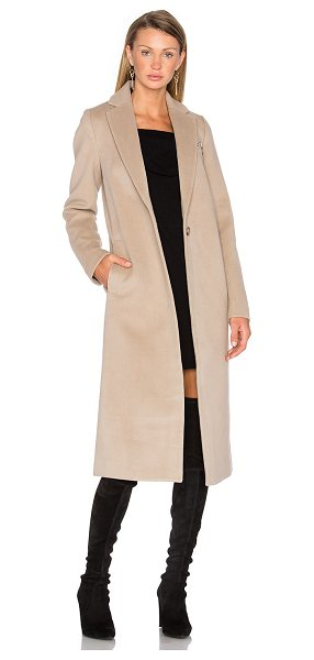 T BY ALEXANDER WANG Draped Wool Car Coat - Channel the subtly cool streets of downtown New York in...