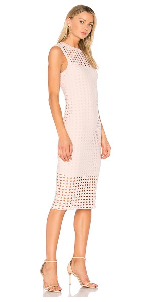 T by Alexander Wang Fitted Tank Dress in blush - Sporty is the new sexy. T by Alexander Wang's Fitted...