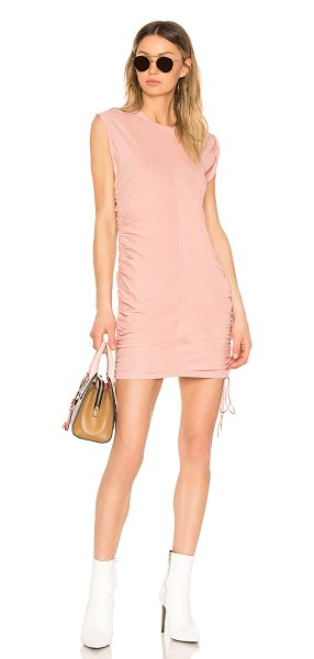 T BY ALEXANDER WANG High Twist Mini Dress in pink - T by Alexander Wang introduces a quintessential piece:...