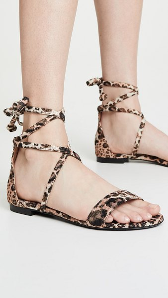 Tabitha Simmons nellie sandals in leopard