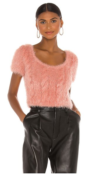 Tach Clothing vivien knit top in pink