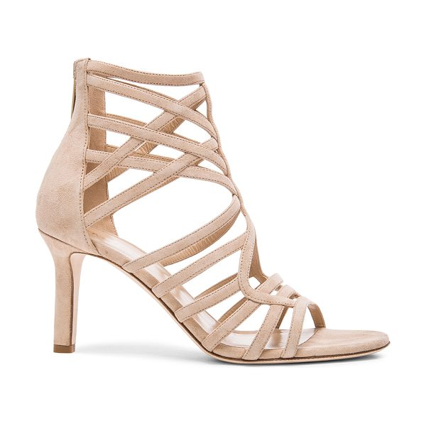 TAMARA MELLON Goddess Nappa & Suede Sandals - Suede upper with leather sole.  Made in Italy.  Approx...