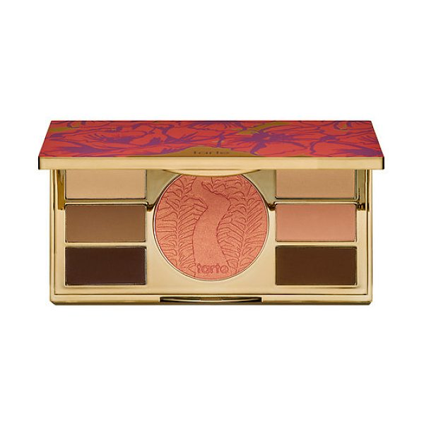 TARTE poppy picnic limited-edition amazonian clay eye & cheek palette - A limited-edition, matte eye and cheek palette infused...