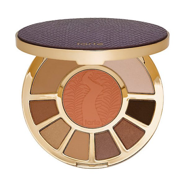 TARTE showstopper clay palette - A long-wearing, Amazonian clay-infused eye and cheek...