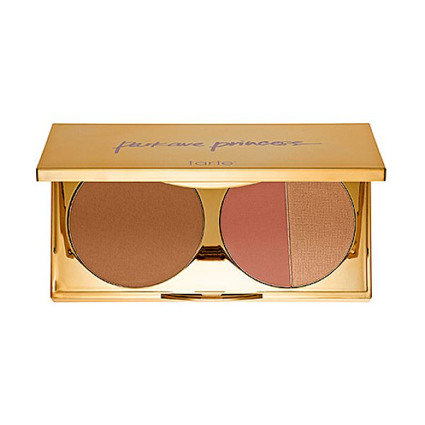 tarte tres chic park avenue princess contour palette - A limited-edition, three-in-one palette with luxe,...
