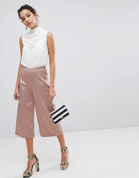 Ted Baker Berilo Wide Leg Culottes in pink - Culottes by Ted Baker, High-rise waist, Just like your...