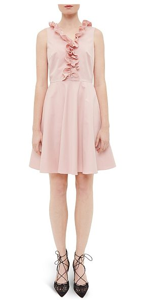 TED BAKER Cottoned On Emalia Ruffle Dress - Ted Baker Cottoned On Emalia Ruffle Dress-Women