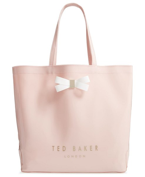 Ted Baker large gabycon bow detail icon tote in pink