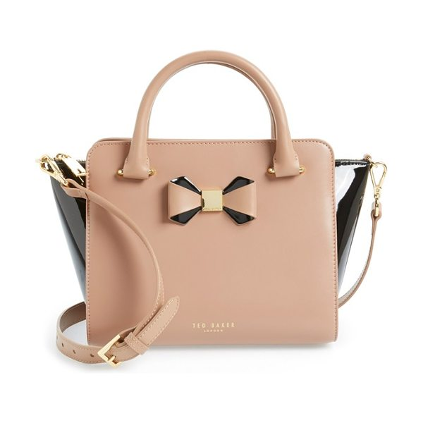 TED BAKER Ashlene - A pert-and-polished bow with goldtone detailing refines...