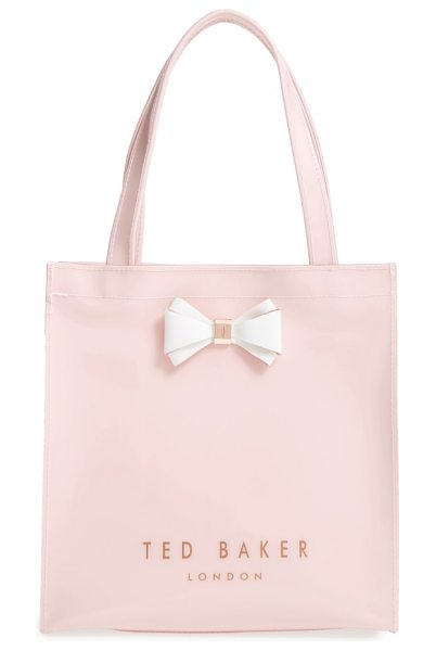 Ted Baker small icon in mid pink - A signature bow plays up the timeless sophistication of...