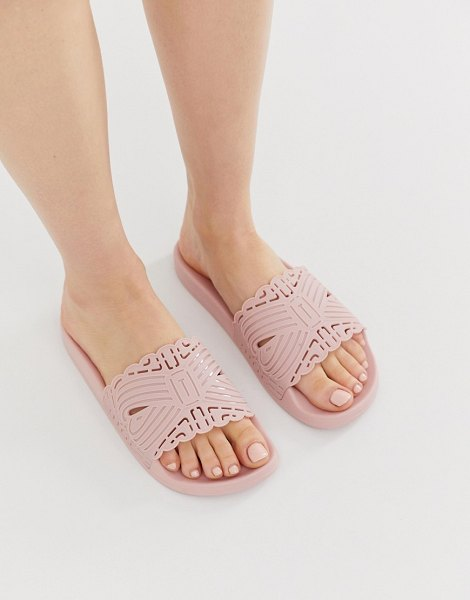 Ted Baker pink cut out detail slider in pink