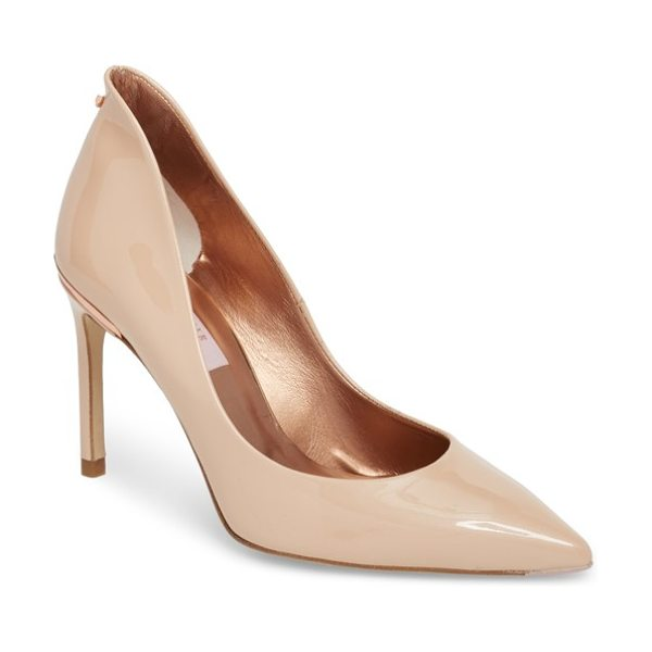 Ted Baker savio pump in beige