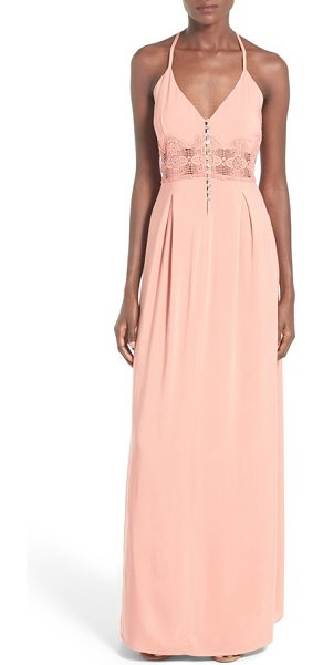 Ten Sixty Sherman button front maxi dress in terra cotta