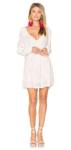 Tessora Beaded Mini Dress in pink - Self & Lining: 100% viscose. Dry clean only. Fully...