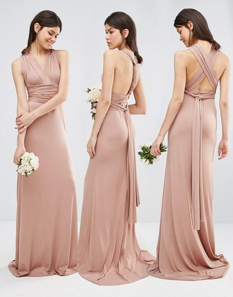 TFNC TALL Wedding Multiway Fishtail Maxi Dress - Tall dress by TFNC tall, Woven fabric, Comes with two...