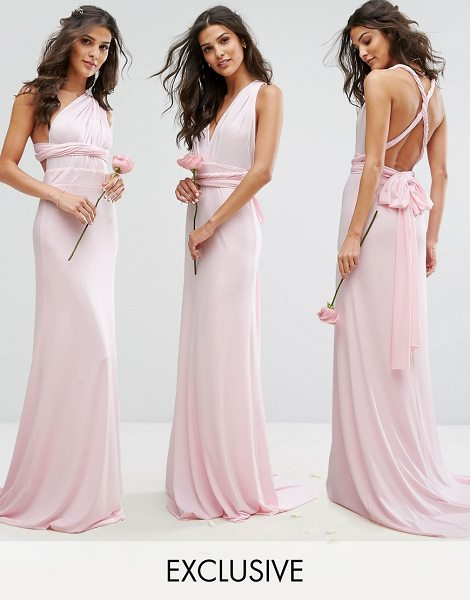 """TFNC Multiway Maxi Bridesmaid Dress - """"""""Maxi dress by TFNC, Smooth lightweight fabric, Comes..."""
