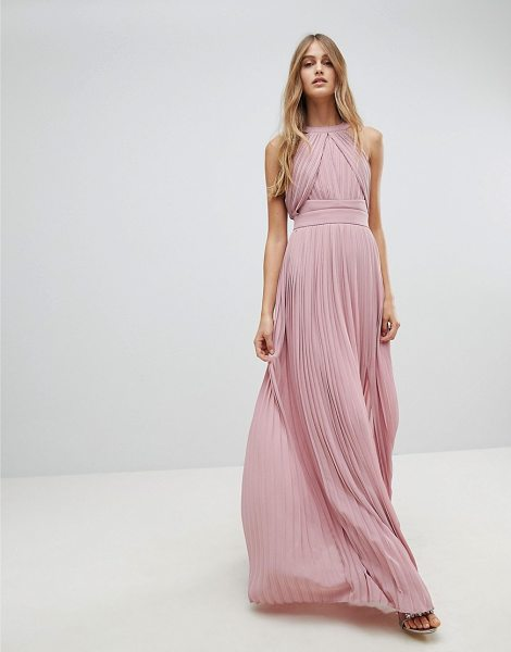 TFNC Pleated Maxi Bridesmaid Dress - Maxi dress by TFNC, For that thing you RSVPd to, Round...
