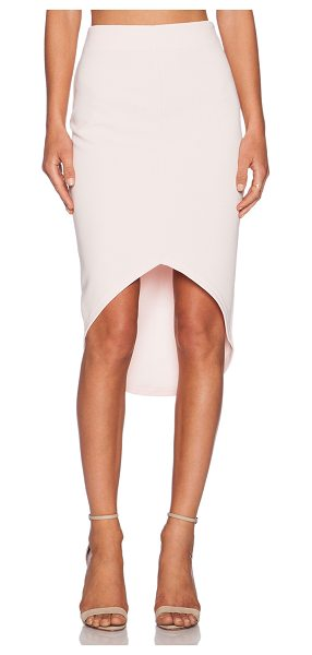 """The Fifth Label Building Blocks Skirt in pink - Cotton blend. Hand wash cold. Skirt measures approx 30""""""""..."""